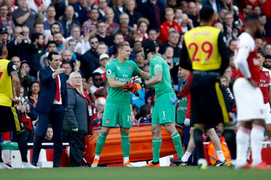Leno chúc Cech sớm trở lại - Bóng Đá