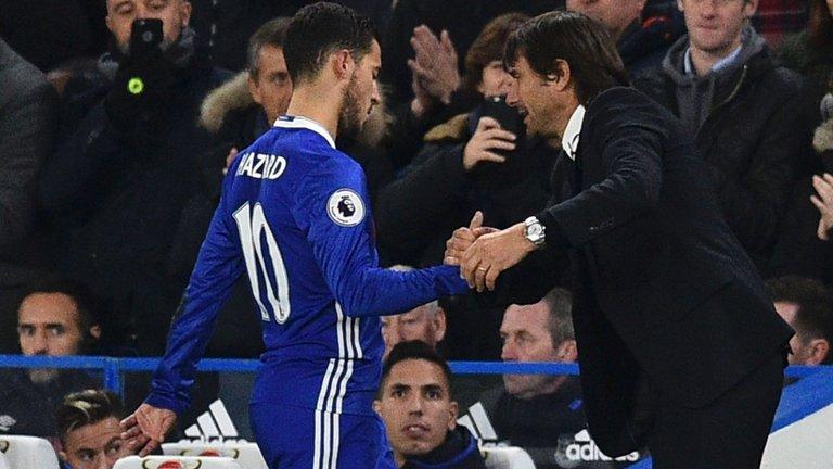 Conte qua Real có thể giúp Chelsea giữ chân Hazard - Bóng Đá
