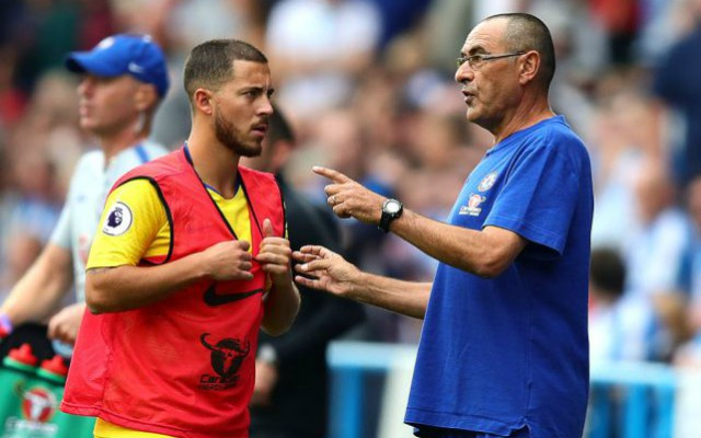 Hazard: Sarri sẽ điên lên nếu không kiểm soát bóng trong 5 phút - Bóng Đá