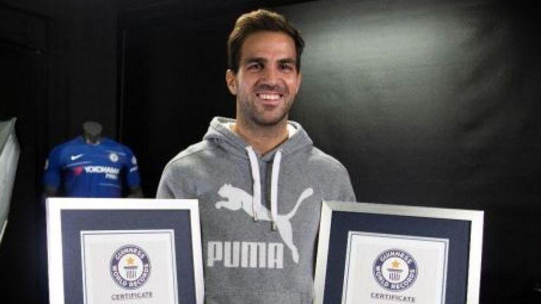 Fabregas lập kỷ lục thế giới - Bóng Đá