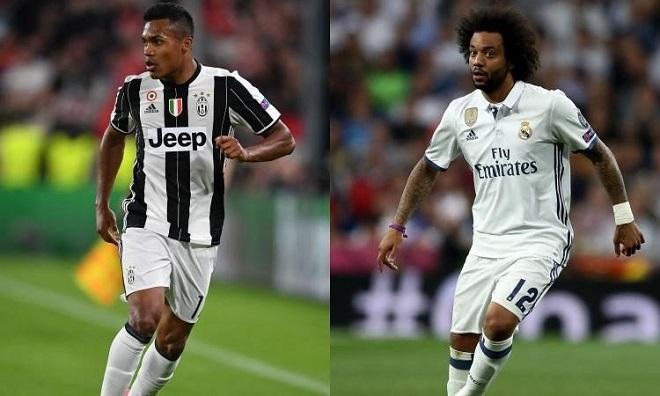 Real đề nghị đổi Marcelo lấy Alex Sandro - Bóng Đá