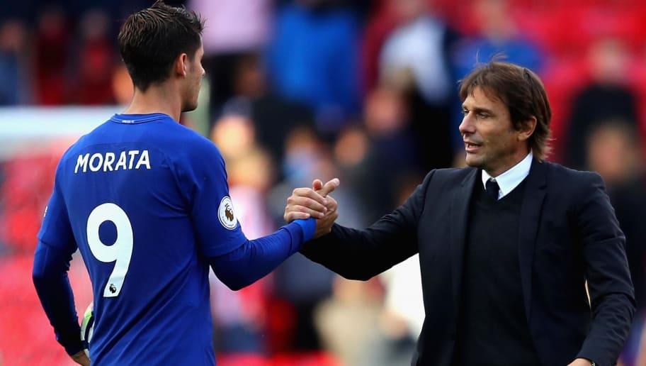 Morata: Conte không có kiểm soát tại Chelsea - Bóng Đá