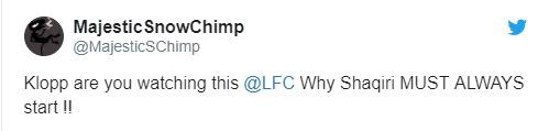 CĐV Liverpool khen Shaqiri vì thắng Bỉ - Bóng Đá