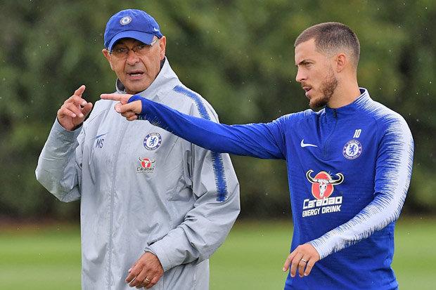 Sarri nói về gia hạn Hazard - Bóng Đá