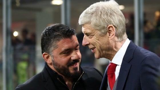 AC Milan làm rõ khả năng Wenger thay Gattuso - Bóng Đá