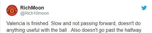 Fan MU chỉ trích Valencia - Bóng Đá