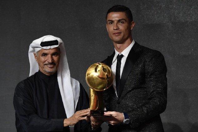 Ronaldo bỏ qua Real trong bài phát biểu - Bóng Đá