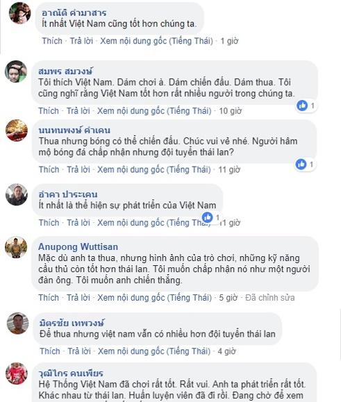 Fan Thái Lan nói về VN - Bóng Đá