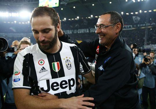 Juve thông báo giá Higuain cho Chelsea - Bóng Đá