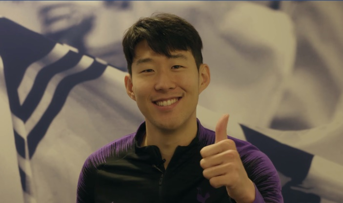 Son Heung min chúc mừng năm mới - Bóng Đá