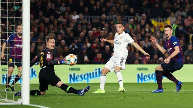 Vazquez giúp Real nối dài mạch ghi bàn Barca - Bóng Đá