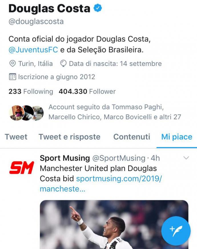 Costa like tweet M.U đặt giá - Bóng Đá