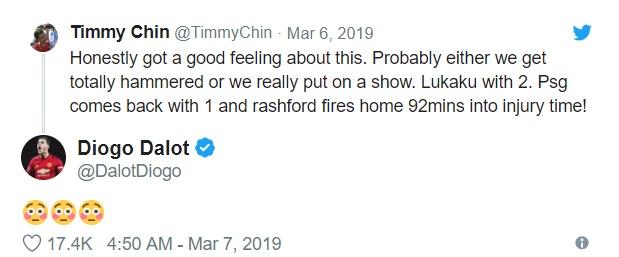 Timmy Chin dự đoán đúng trận MU - PSG trước 6 phút  - Bóng Đá