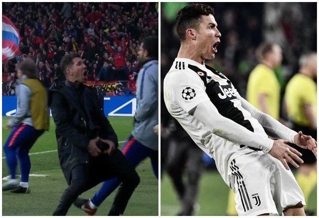 Simeone nói về Ronaldo - Bóng Đá