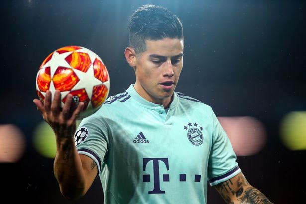 Real ra giá bán James cho M.U và Liverpool - Bóng Đá