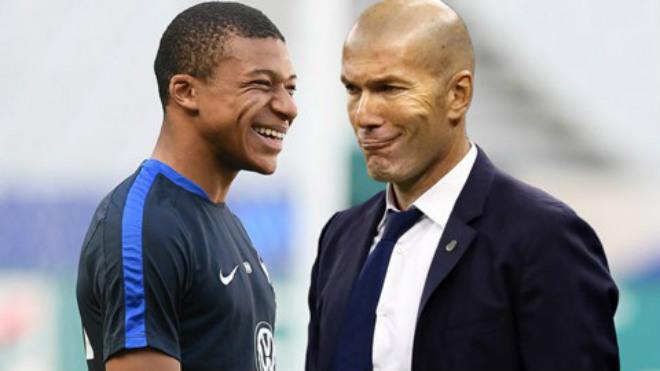 Zidane muốn làm HLV Mbappe - Bóng Đá