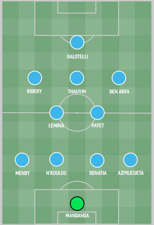 Đội hình khủng Marseille - Bóng Đá