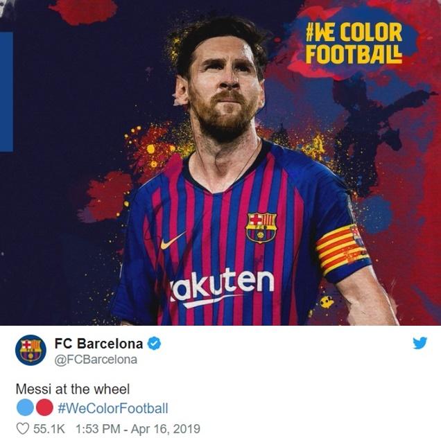 Barca nhạo báng Man Utd trên mạng xã hội - Bóng Đá