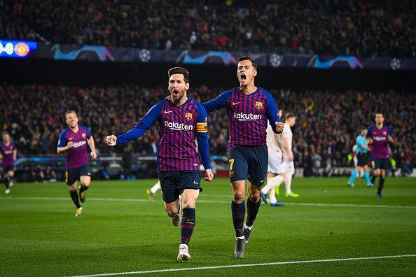 Phản ứng của Messi khi Ronaldo bị sút khỏi C1 - Bóng Đá