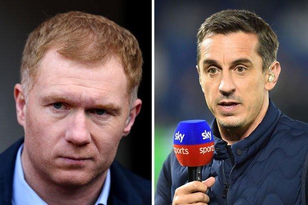 Mourinho đá xéo Scholes + Neville - Bóng Đá
