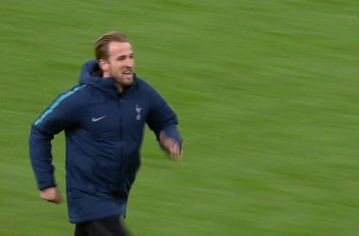 Kane chạy vào sân ăn mừng - Bóng Đá