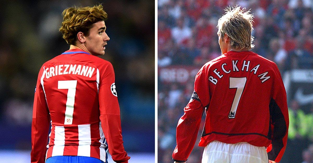 Griezmann thần tượng Beckham - Bóng Đá