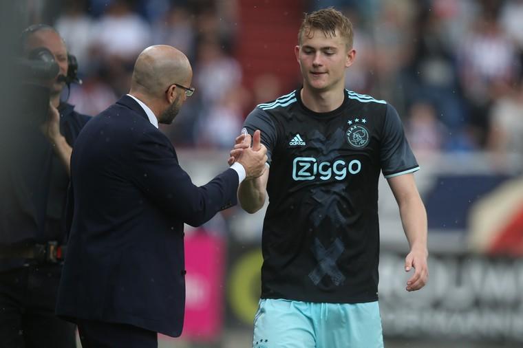 Cựu HLV Ajax khuyên De Ligt đến City - Bóng Đá