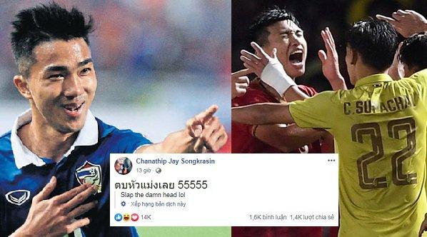 Chanathip xin lỗi CĐV Việt Nam - Bóng Đá