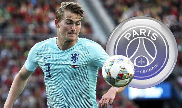 PSG set to complete De Ligt signing - Bóng Đá