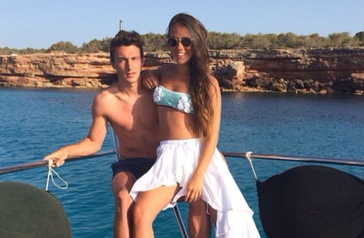 Matteo Darmian and wife Francesca Cormanni welcome new baby into the world  - Bóng Đá