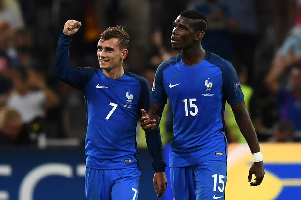 Manchester United urged to sign Antoine Griezmann because of Paul Pogba connection - Bóng Đá
