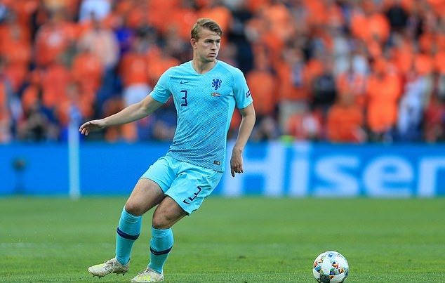 Matthijs de Ligt to join PSG after Manchester United and Barcelona fail to match £17m-a-year wage offer - Bóng Đá