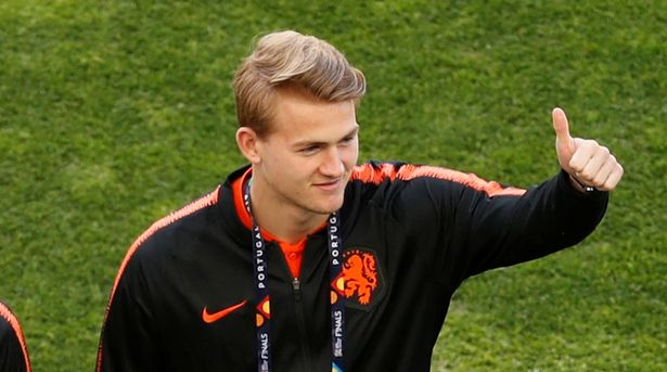 Man Utd target Matthijs de Ligt's telling response when asked about transfer to one team - Bóng Đá