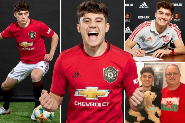 Man United new signing Daniel James' Wag Ria Hughes is a sports instructor - Bóng Đá