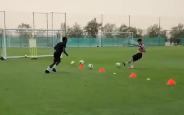 Daniel James training ahead of the new season - Bóng Đá