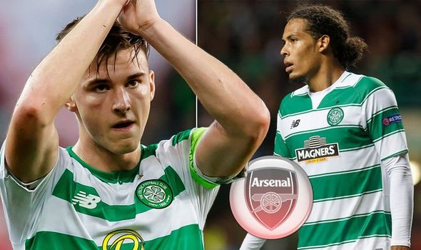 Kieran Tierney to be offered £20m contract by Arsenal if Celtic transfer fee is agreed - Bóng Đá
