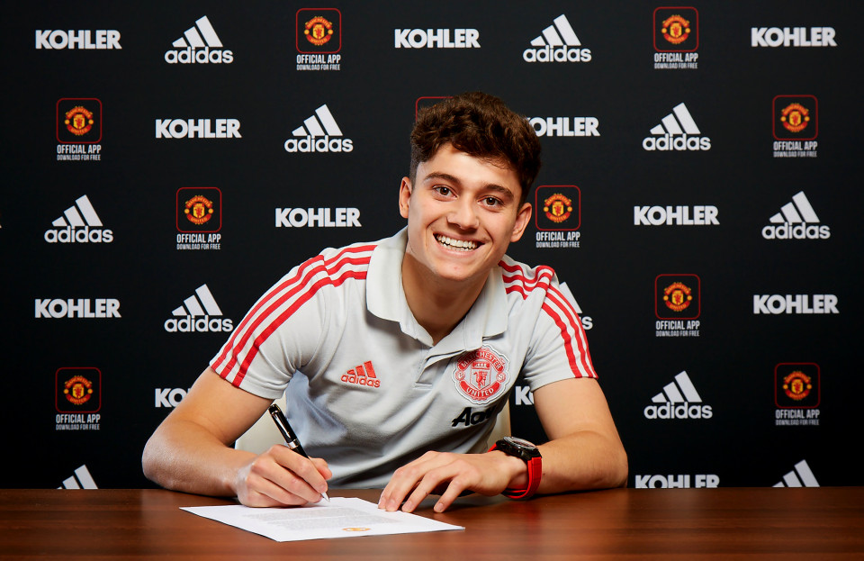 Daniel James training ahead of the new season - Bóng Đá