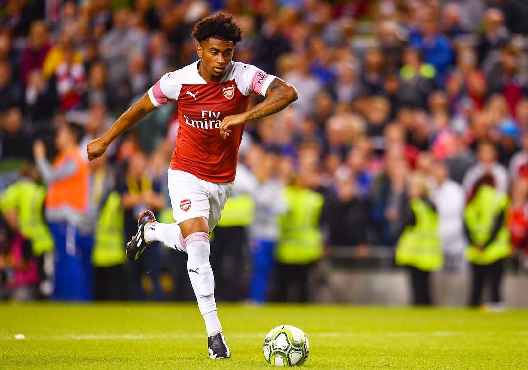 Reiss Nelson confirms he wants to return to Arsenal next season to fight for places   - Bóng Đá