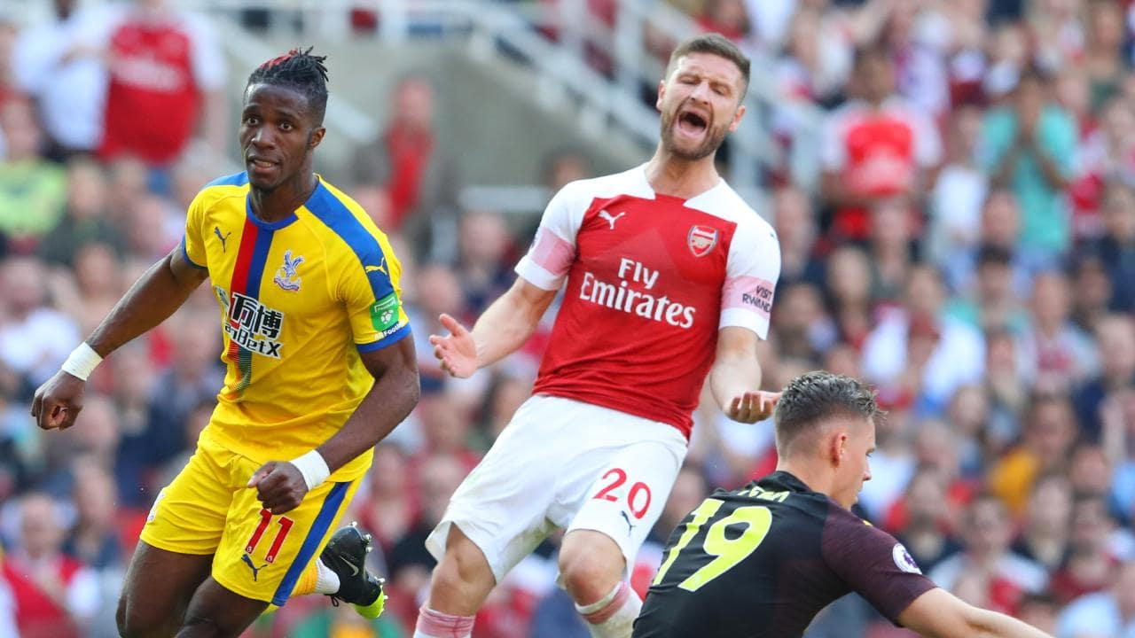 Zaha wants Arsenal move - but they can't afford him - Bóng Đá