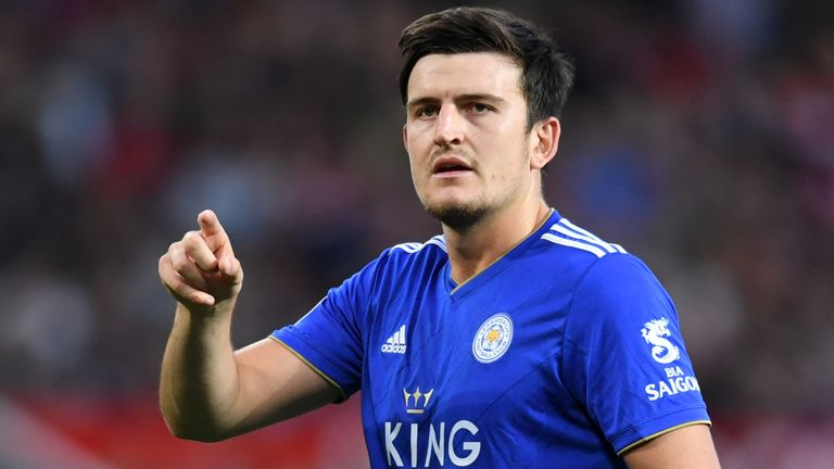 United and City have told Leicester they're prepared to pay £65m for Harry Maguire - Bóng Đá