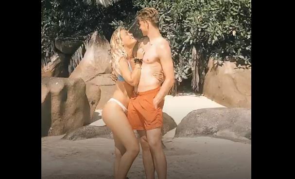 Frenkie De Jong's stunning Wag Mikky Kiemeney posts 20-minute long holiday video montage - Bóng Đá
