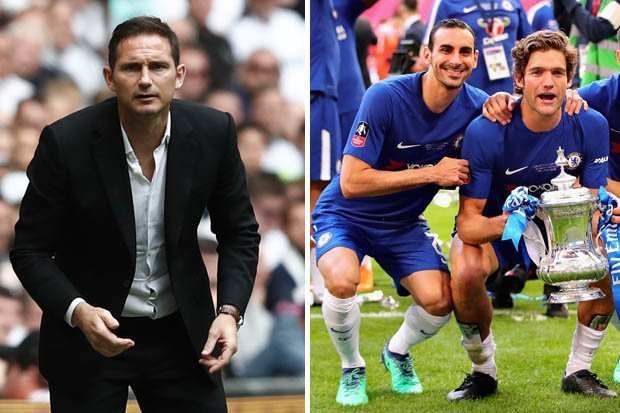 Two Chelsea players eye exit as Frank Lampard prepares to get down to work - Bóng Đá