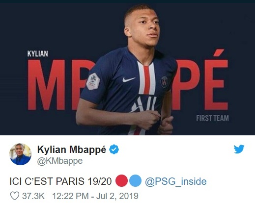 Mbappe shuts down transfer rumours with simple message - Bóng Đá