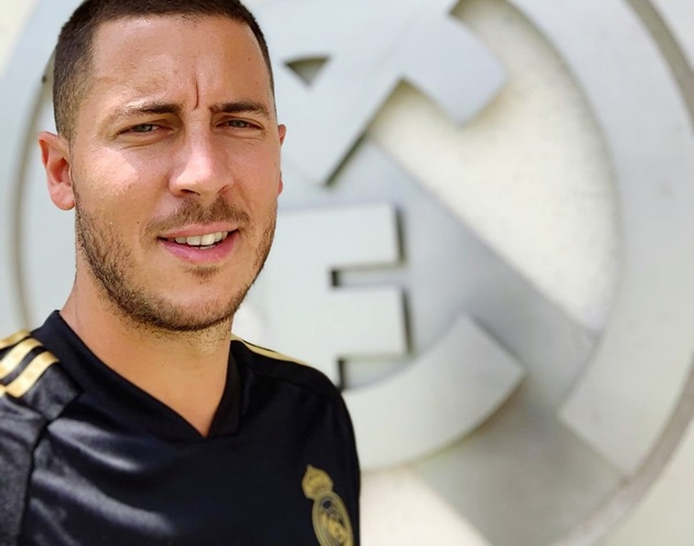 Eden Hazard reports for his first day of Real Madrid training - Bóng Đá