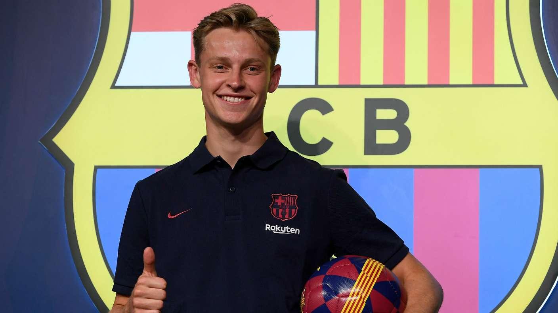 Barcelona new boy De Jong reveals dream of joining Arsenal - Bóng Đá