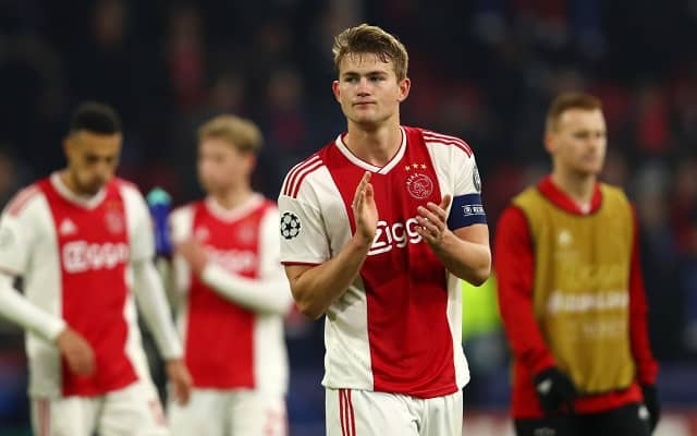 Matthijs de Ligt is ready to become a new Juventus player - Total agreement reached between Juventus and Ajax - Bóng Đá
