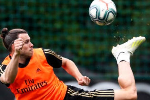 Gareth Bale trains with Real Madrid team-mates in Canada - Bóng Đá