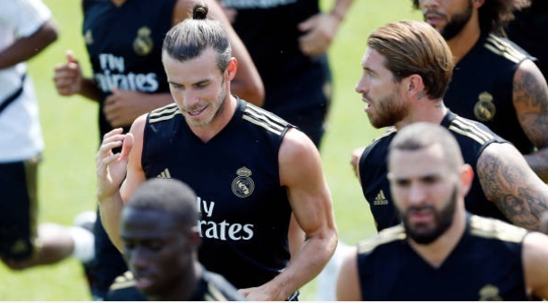 Gareth Bale trains with Real Madrid team-mates in Canada - Bóng Đá