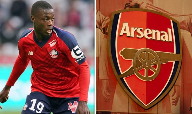 Arsenal submit £70m bid to sign Nicolas Pepe from Lille  - Bóng Đá