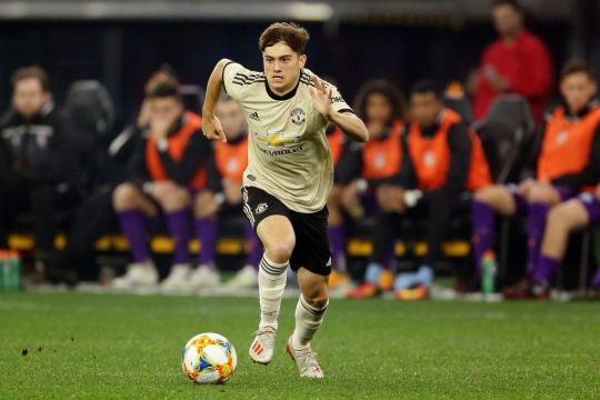 Daniel James reveals the tactical instructions he gave his new teammates after signing for Manchester United   - Bóng Đá
